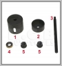 H.C.B-A7007 HONDA LOWER CONTROL ARM BUSHES REMOVER/ INSTALLER